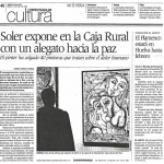 Soler expone en la Caja Rural